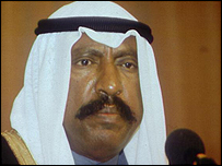 Kuwaiti Crown Prince Sheikh Saad al-Abdullah al-Sabah