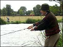 An angler
