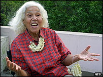 Nawal Saadawi in 2001 (file photo)