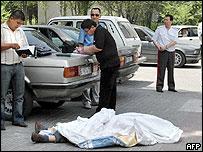 Body of Jyrgalbek Surabaldiyev - 10/6/05