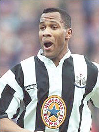 Former Newcastle, Spurs and QPR striker Les Ferdinand
