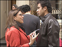 Mira Nair and Kal Penn