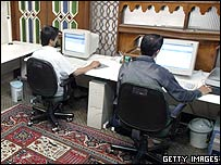 Computer users in Iran