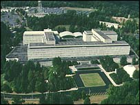 The CIA's HQ at Langley, Virginia