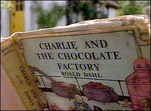 An early copy of Charlie and the Chocolate Factory