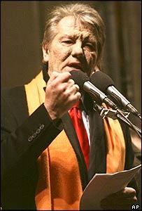 Opposition leader Viktor Yushchenko