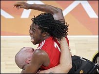 GB wheelchair basketball player Ade Adepitan