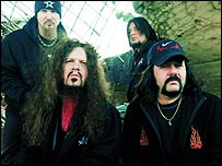 Rock group Damageplan