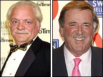 David Jason and Terry Wogan