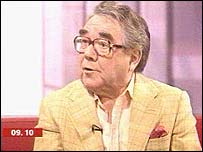 Ronnie Corbett in the Breakfast studio