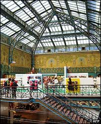 The interior of La Samaritaine