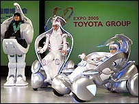 Toyota personal mobility vehicles