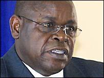 Zimbabwe Cricket chairman Peter Chingoka