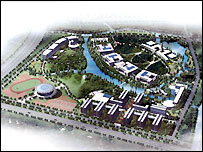 Plan of Ningbo campus