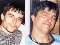 The killers of Denis Ceka