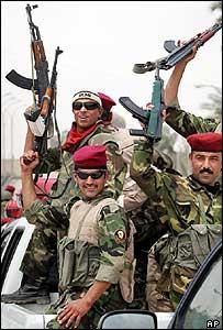 Wolf Brigade commandos in Baghdad