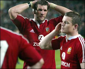 Simon Shaw andBrian O'Driscoll reflect on defeat