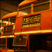 Routemasters stored at Ensignbus