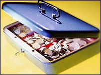 A cash box