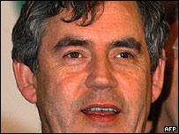 Gordon Brown, ministro de Finanzas británico