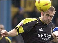 Cardiff City full-back Darren Williams