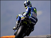 Sete Gibarnau, motociclista