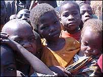 Niños en Etiopía.