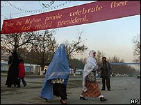 Afghan people in Kabul