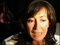 Rosa Mart�nez, una de las primeras mujeres curadoras de la Bienal. Foto Manuel Toledo.
