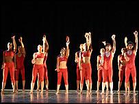 Presentaci�n de la Danza Contempor�nea de Cuba en Venezia.
