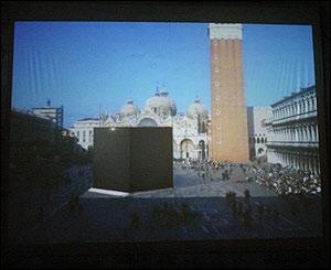 Proyecto Cube Venice 2005 de Konrad Fischer.