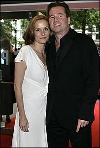 Val Kilmer and Charlotte Emmerson