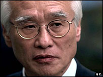 Daewoo ex-chairman Kim Woo-choong in 1998