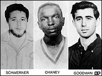 The killed civil rights activists