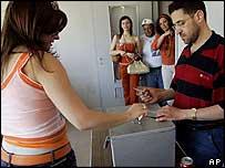 Lebanese voters