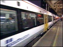 South Eastern Trains service from London to Hastings