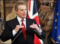 Prime Minister Tony Blair