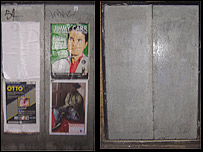 Door before and after treatment in Westminster