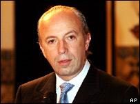 Portuguese Prime Minister Santana Lopes