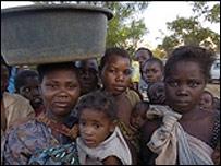 Malawian villagers