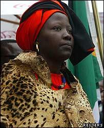 Rain Queen Makobo Modjadji