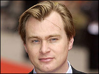 Christopher Nolan at the Batman Begins UK premiere