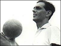 Joao Saldanha, t�cnico de la selecci�n brasile�a en los 70 (Foto Memoria do Futebol)