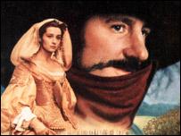 Afiche de la pel�cula Cyrano de Bergerac, protagonizada por Gerard Depardieu