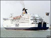 P&O cross-channel ferry