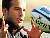 France fly-half Frederic Michalak