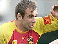 Perpignan flanker Gregory Le Corvec