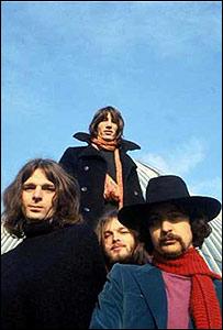 Pink Floy en los años 70.