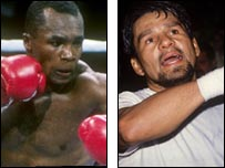 """Un duelo entre dos grandes: Sugar Ray Leonard y Roberto """"Mano de piedra"""" Dur�n"""