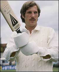 Botham on his Test debut